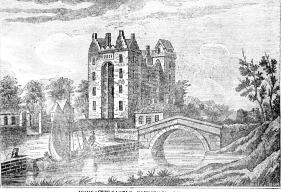 Samuel Lewis describes Bunratty in 1837
