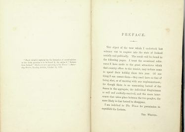 Preface of Letters from Ireland | John O'Brien