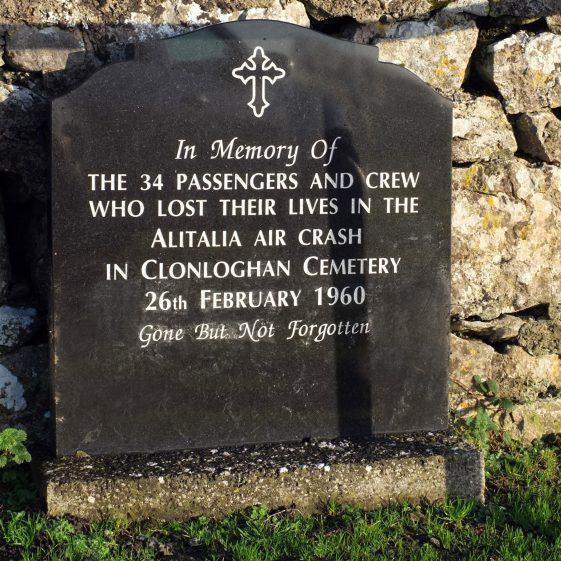 Memorial to the casualties of the Alatalia air crash at Clonloghan   John O'Brien