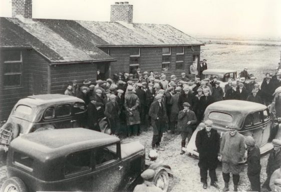 The 1938 strike at Rineanna Airport