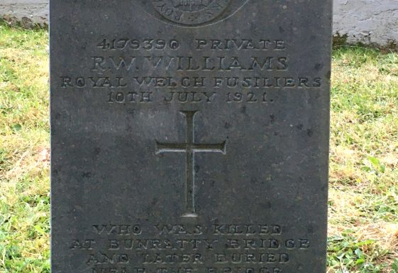 Private R.W.Williams